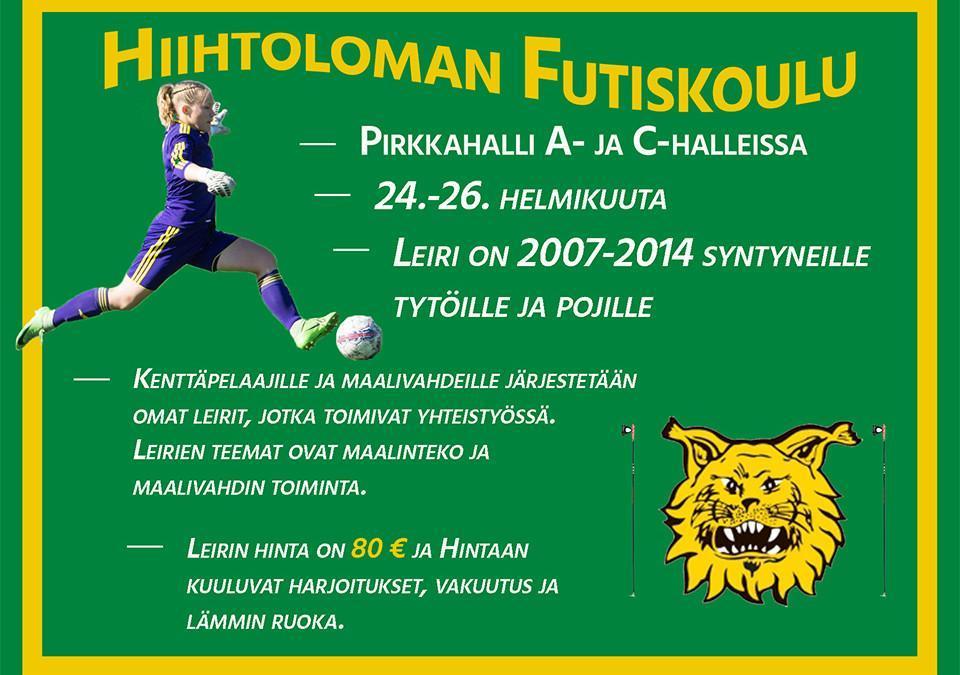 Hiihtoloman Futiskoulu1