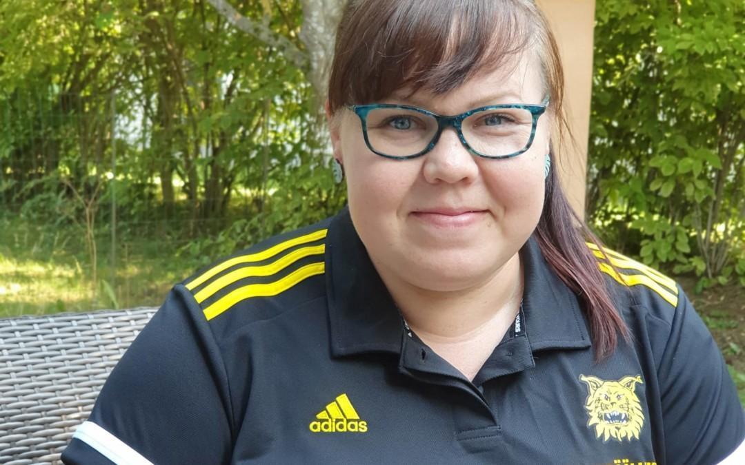 Ilves jalkapallon heinäkuun Kuukauden vapaaehtoinen on Paula Turtonen!